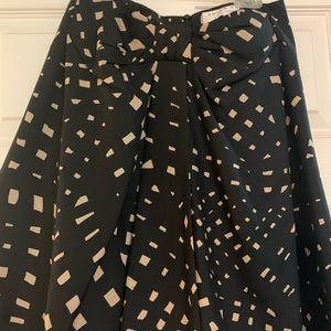 Trina Turk Bow Silk skirt